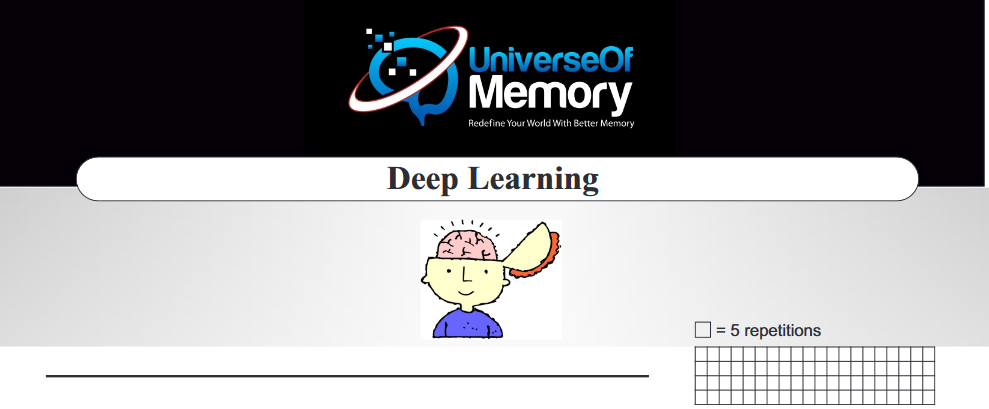 Deep learning Cheatsheet